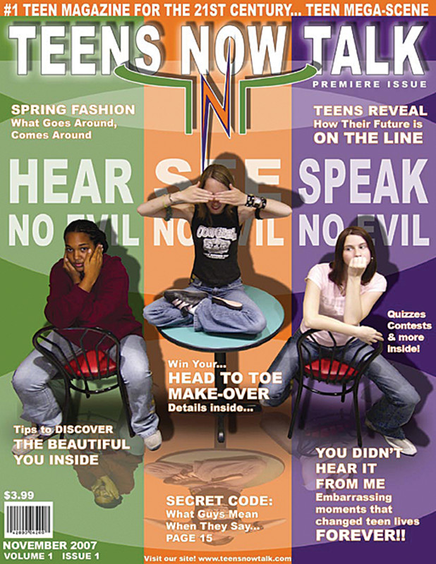 Teens Now Talk Magazine 2007 Fall Issue