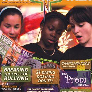 Teens Now Talk Magazine 2008 Spring Issue