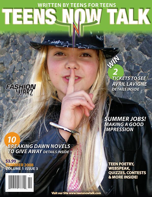 Teens Now Talk Magazine 2008 Summer Issue