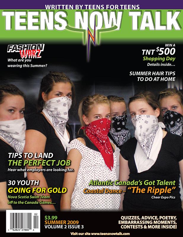 Teens Now Talk Magazine 2009 Summer Issue