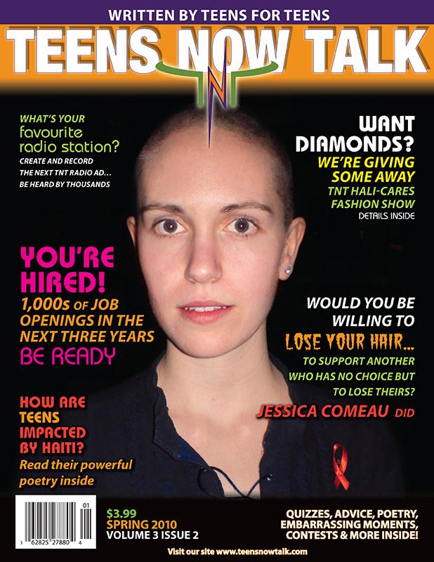Teens Now Talk Magazine 2010 Spring Issue