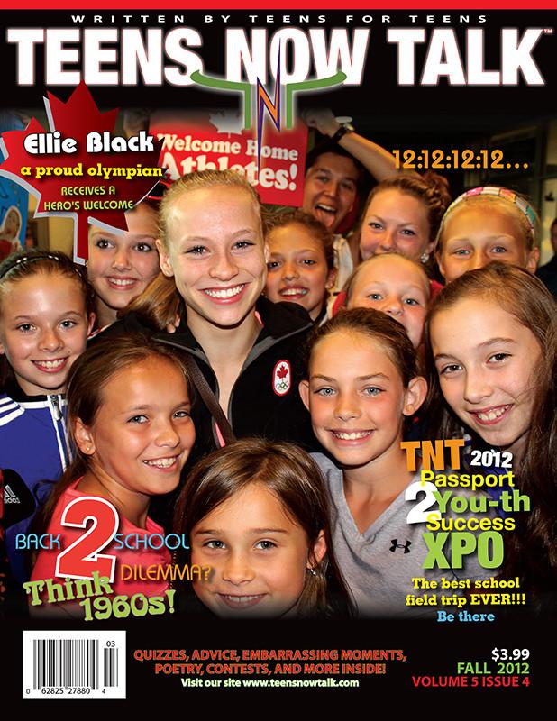 Teens Now Talk Magazine 2012 Fall Issue