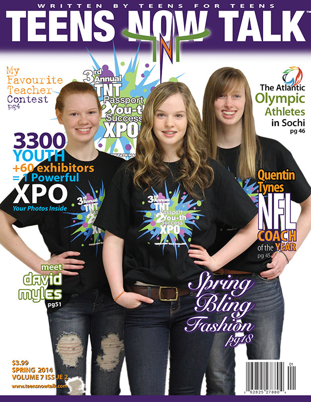 Teens Now Talk Magazine 2014 Spring Issue