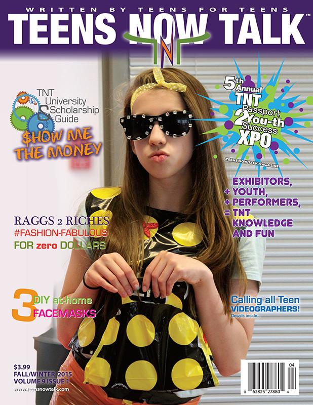 Teens Now Talk Magazine 2015 Fall/Winter Issue