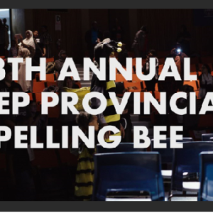 2019 REP Provincial Spelling BEE Mini
