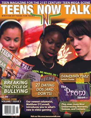 Teens Now Talk Magazine 2008 Spring Issue