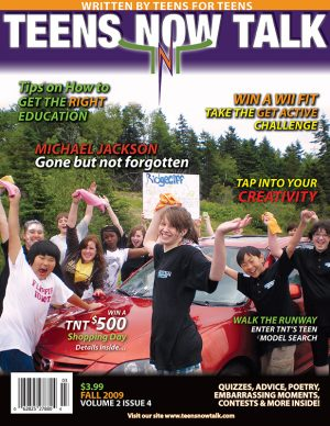 Teens Now Talk Magazine 2009 Fall Issue