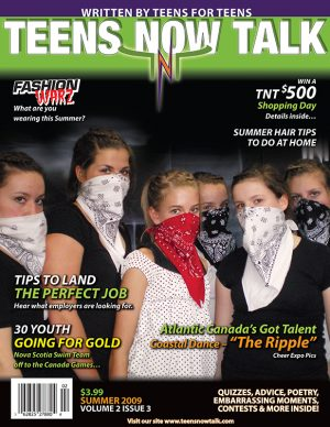 Teens Now Talk Magazine 2009 Summer Issue