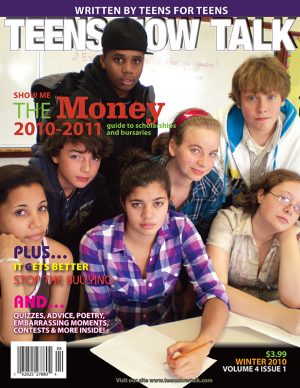 Teens Now Talk Magazine 2010 Winter Issue