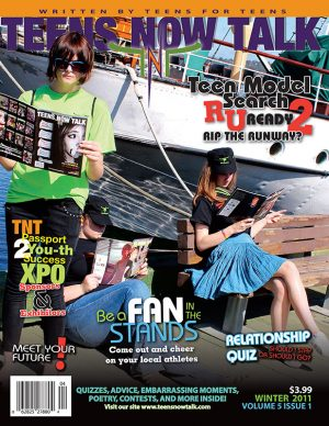 Teens Now Talk Magazine 2012 Winter Issue