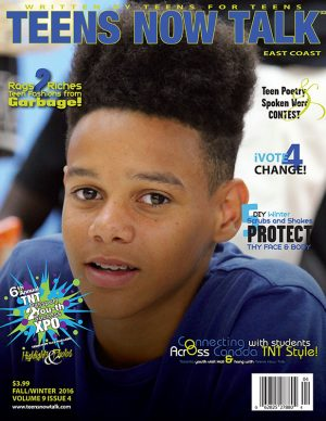 Teens Now Talk Magazine 2016 Fall/Winter Issue