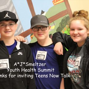A.J. Smeltzer Youth Health Summit