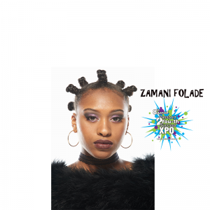 Performer Zamani Folade coming to the XPO