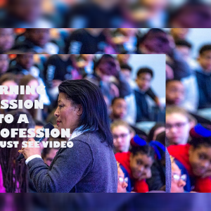 Turning Passion Into A Profession Event Video