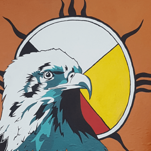 Eagle and Medicine Wheel