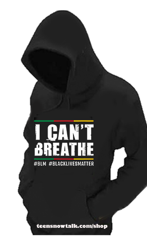 Black Lives Matter HoodiesLocal Business spreads the message while helping youth in her communit. #Blacklivesmatters #BLM #teensnowtalk y