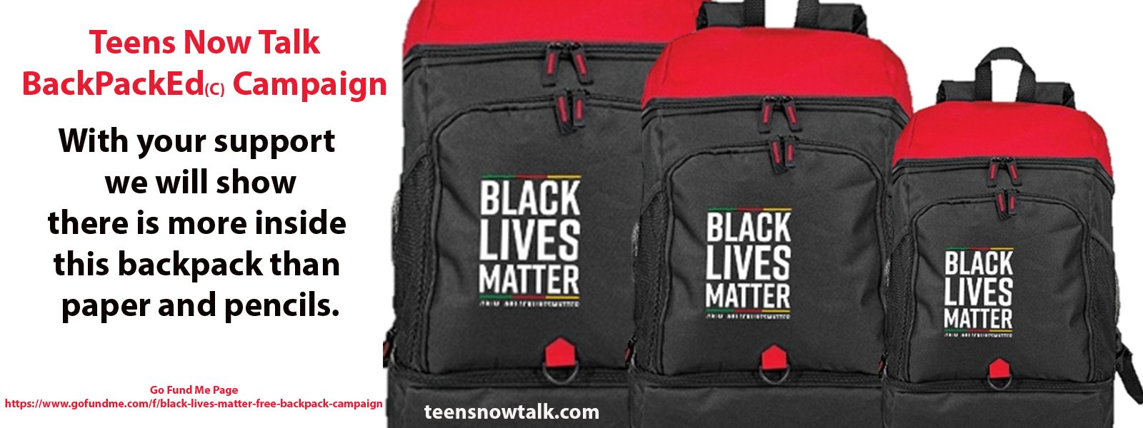 BackPackEd Black Lives Matter