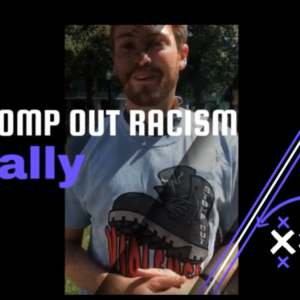 Stomp Out Racism BLM Rally